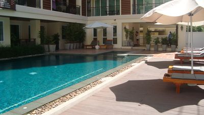 Photo for NEAR THE BEACH. APARTMENT 404, QUIET IN THE ANIMAL AREA OF JOMTIEN.