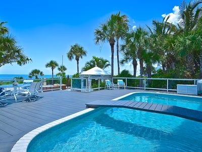 Photo for Beach Front Luxurious Property on Casey Key , NEW VIDEO!!