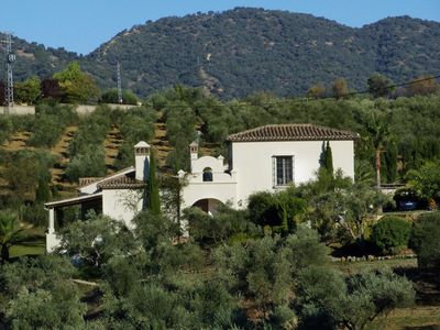 Photo for Elegant villa near Ronda – superb for your holidays with family and friends!
