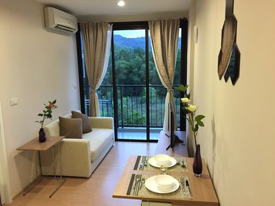 Photo for 1BR Condo Vacation Rental in Tambon Choeng Thale, จ.ภูเก็ต