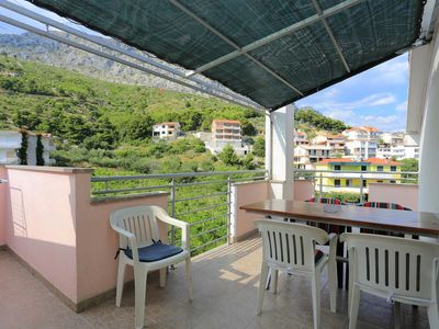 Photo for One bedroom apartment with terrace Duće (Omiš)