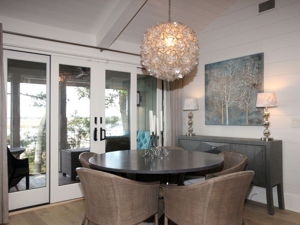 Waterfront Newly Remodeled Leed Certified Home In Inlet