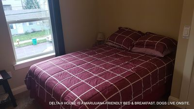 Photo for Delta-9 House - SATIVA Room - Portland's 420-Friendliest Guest House