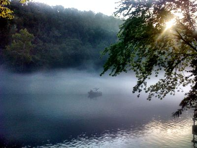 Photo for Secluded Cabin + Guest House with *Private Dock' at West End of Lake Taneycomo