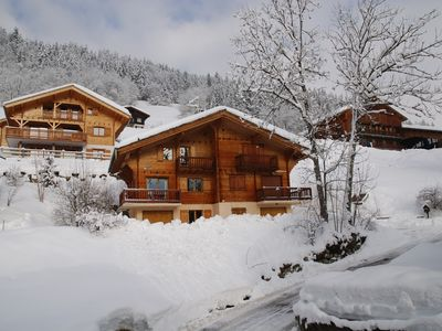 Photo for Chalet in French Alps -  Beautiful, quiet location