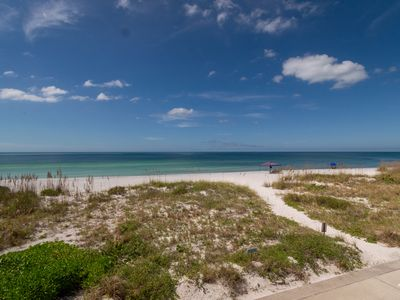 WE 110 Lovely Gulf Front 2/2 Pool Condo Relax On Sugar Sand Beach