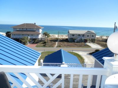 Balcony View of the gulf waters