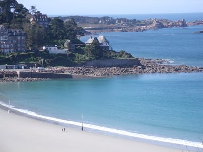 Photo for MAGNIFICENT SEA VIEW in Perros Guirec: Archipelago 7 Islands, beach, ploumanach point