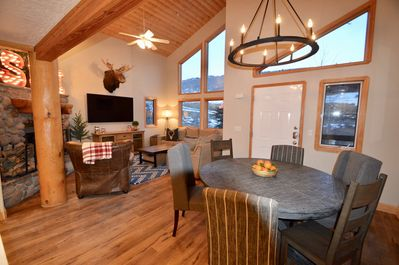 Dining and family room