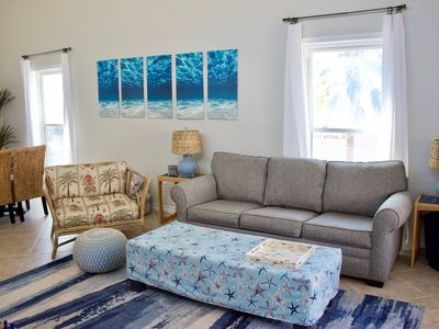 Photo for Stunning Family Friendly Condo Featured On HGTV Just Steps To The Beach