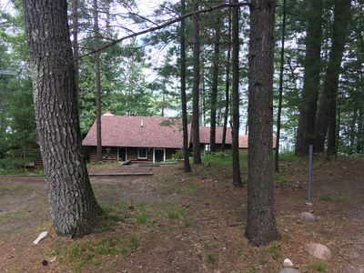 Photo for Four season log cabin on all sport Little Bear Lake