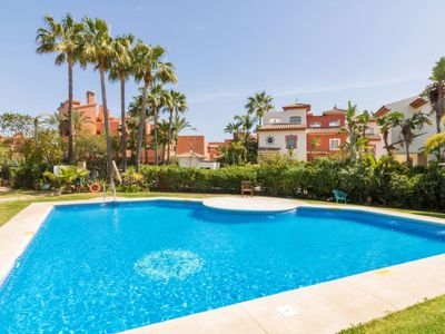 Photo for Vacation home Garden Beach in Estepona - 8 persons, 3 bedrooms