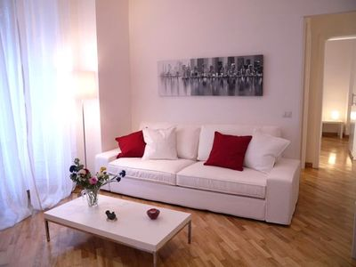 Living room. Apartment totally refurbished.