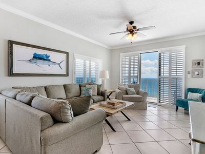 Photo for Summerchase 1201-Beach Front w/ Huge Terrace & Free Seasonal Beach Service
