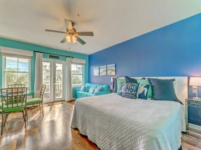 Photo for Open, airy unit, Steps to the beach, Close to entertainment