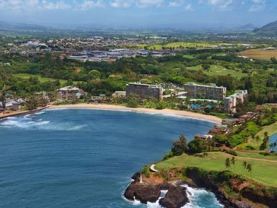 Photo for All weeks, best rates! Oceanfront Marriott Kauai Beach Club Studio. Reserve Now!