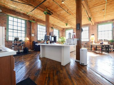 Photo for Artsy River Loft Near Downtown