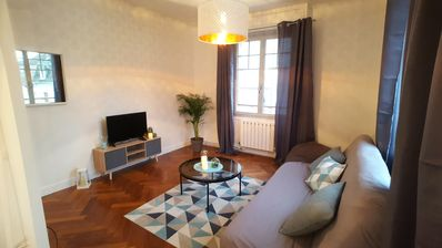 Photo for Very bright apartment in the historic center of joigny
