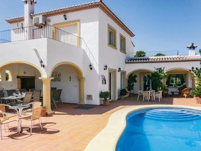 Photo for 6 bedroom Villa, sleeps 12 in La Fustera with Pool, Air Con and WiFi