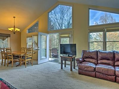 Photo for Charming Peaceful, Spacious Wooded Apartment