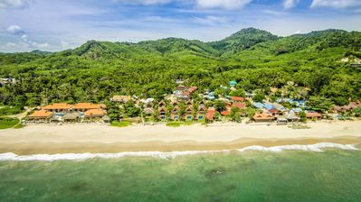 Photo for Beachfront Villa, Private Pool 2BR: Lanta Villa