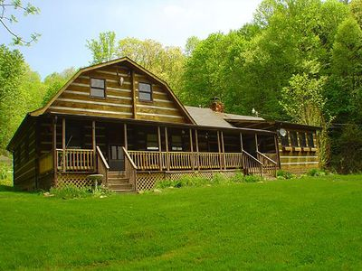 Photo for Simply Irresistible Authentic Log Cabin