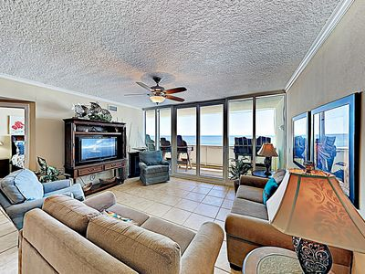 Photo for New Listing! The Colonnades: Beachfront Gem w/ Balcony & Resort Amenities