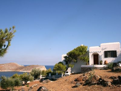 Photo for Villa Ariadne. Family villa at the sea with the best view imaginable