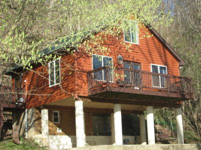 Photo for Private Luxury River Cabin on the Bank of the Shenandoah River