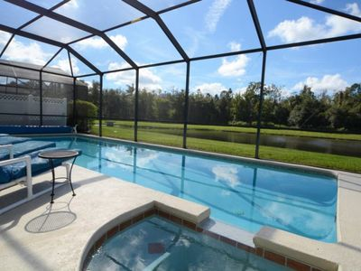 Photo for Water View and Private Pool with Spa!