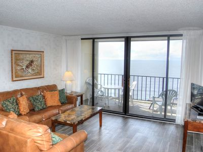 Photo for Full oceanfront condo in highly regarded Arcadian Shores section!