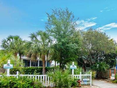 Photo for 2 Beach Houses, Sleeps 26, Private Beach, Private Pools, Gourmet Kitchen, Lake