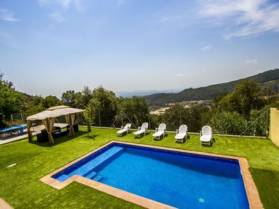 Photo for Catalunya Casas: Villa Sole Sant Feliu for 8 guests, just a short drive to Barcelona!
