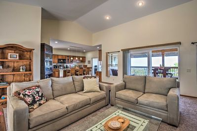You're sure to love the spacious interior with 3 bedrooms and 2 baths.