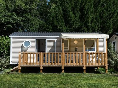 Photo for Camping Chèvrefeuilles **** - Mobile home 4 Rooms 6 People