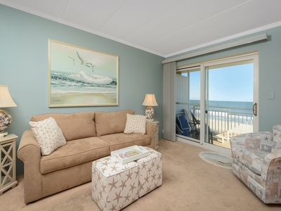 Photo for Ocean front 1 bedroom condo on 51st Street