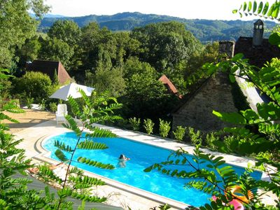Photo for House Dordogne Valley, Correze - Swimming pool, 7/8 people. 4 stars ...