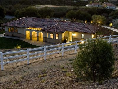Photo for 5-STAR Luxury Private Mini-Estate w/ Views of Wine Country