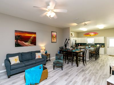 Photo for Townhome at Padre Beach View Resort – Stroll to the Pool & Beach!