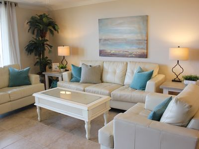 Photo for Gulf front Condo, 3-BR, newly remodeled, Sleeps 10. book now!!