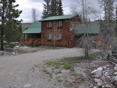 Photo for RIVER Front 3 bed., 2.5 bath Home at Vallecito Lake