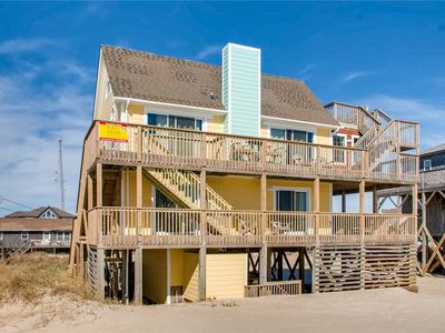 Photo for Can't Get Much Closer Than This! Oceanfront, Rodanthe w/ Hot Tub & Dog-Friendly
