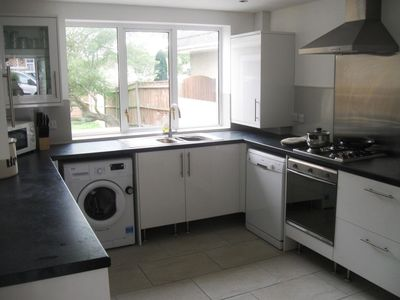 Photo for BOURNECOAST: FAMILY FRIENDLY CHALET BUNGALOW WITH GARDEN AND PARKING - HB6189