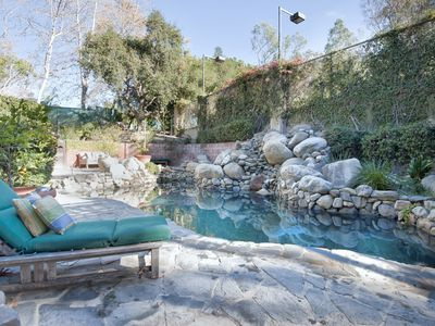 Photo for Pacific Palisades |Country Living | Pool N/S/ Tennis Court