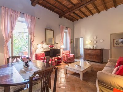 Photo for Apartment in the center of Rome with Internet, Air conditioning, Terrace (9497)