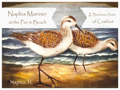 Photo for Sandpiper Suite a 2bd/2ba condo home Fully Equipped Block to beach,pier, 3rd St