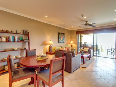 Photo for Breezy condo with shared pool, nearby beaches, & stunning ocean views!