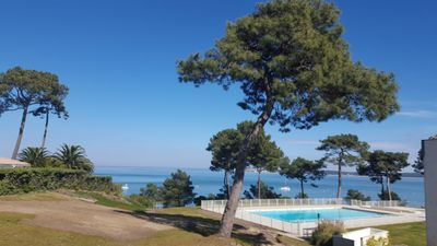 Photo for Rent August, September Cap Ferret panoramic view over Bassin d'Arcachon.