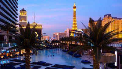 View from the Bambo pool (free access with room key)