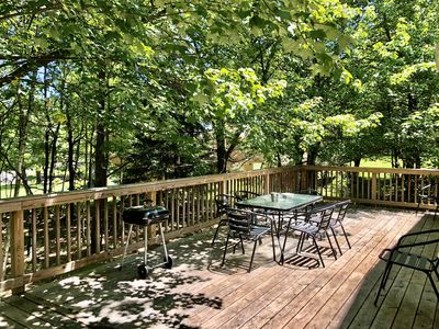 Photo for Woodsy Pocono House - Close to Whitewater Rafting and Pet Friendly